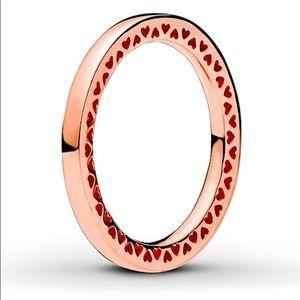 BNWOT PANDORA Rose Ring